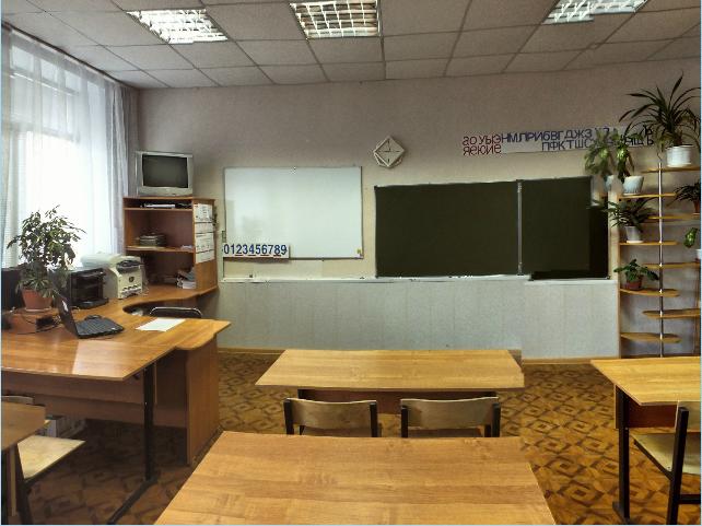 Кабинет начальной школы 1